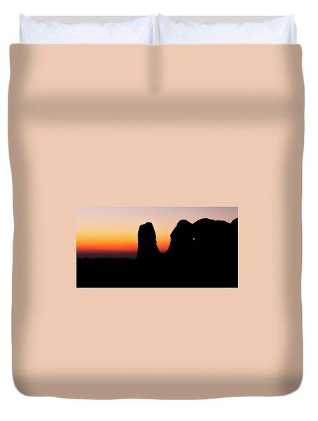 Desert Night Duvet Cover