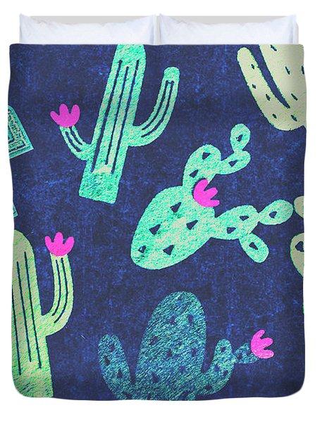 Desert Nights Duvet Cover