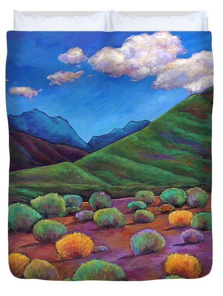 Desert Valley Duvet Cover