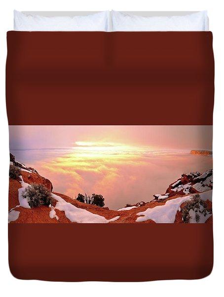 Desert Winter Duvet Cover