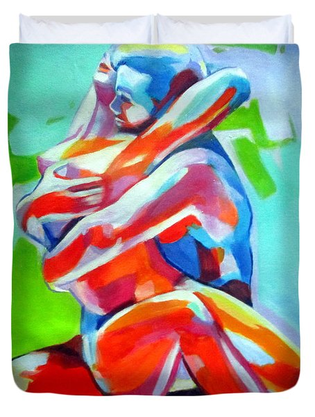 Desire And Love Duvet Cover