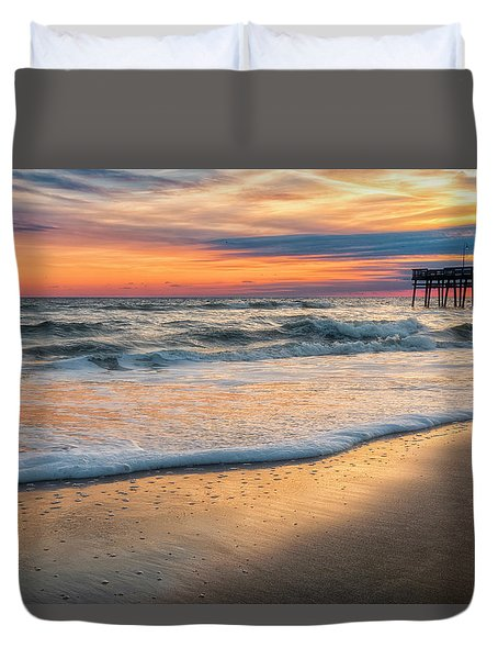 Duvet Cover featuring the photograph Detailed by Russell Pugh