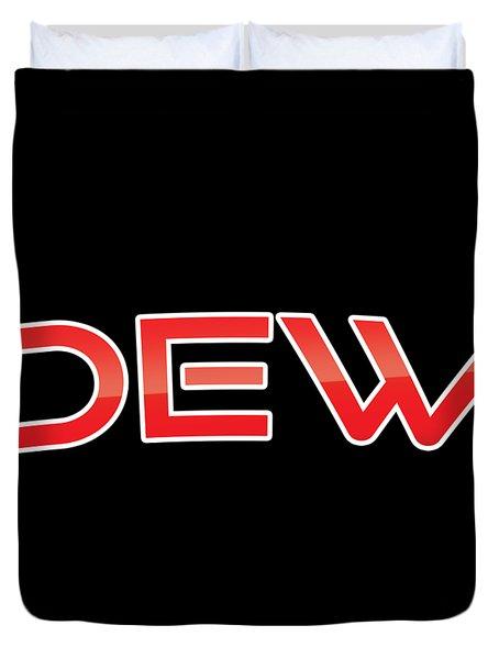 Dew Duvet Cover