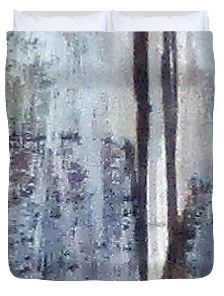 Digital Abstract N13. Duvet Cover