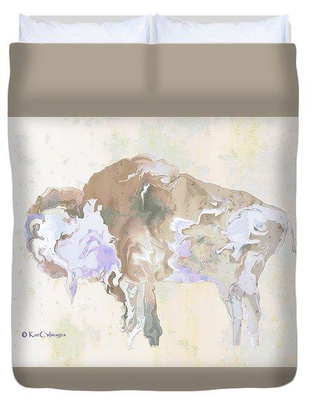 Digital Bison 6e Duvet Cover
