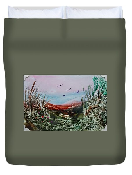 Disappearing Pathway Duvet Cover
