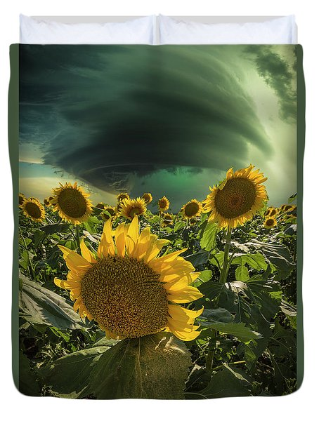 Duvet Cover featuring the photograph Disarray  by Aaron J Groen