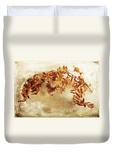 Duvet Cover featuring the photograph Disorderly Order by Randi Grace Nilsberg
