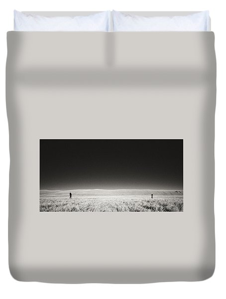 Distance Between Us Duvet Cover