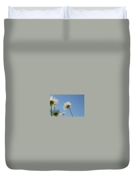 Distracted Daisies Duvet Cover