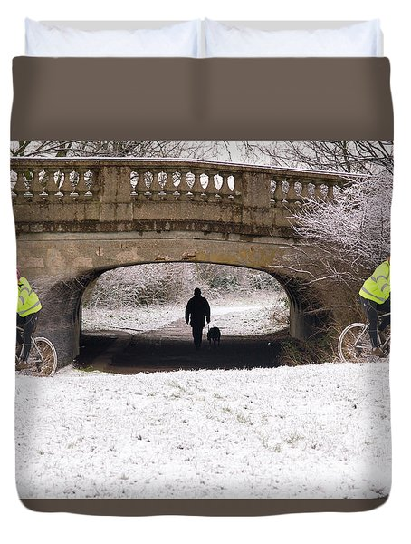 Distraction Duvet Cover