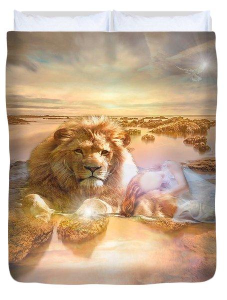 Divine Rest Duvet Cover