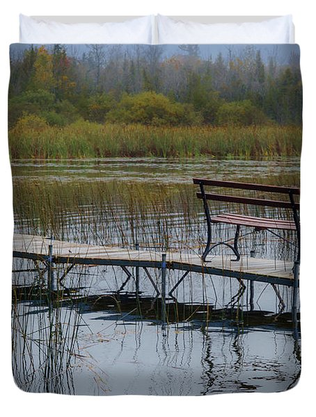 Dock By The Bay Duvet Cover