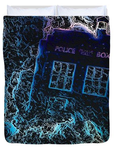 Doctor Who Tardis 3 Duvet Cover