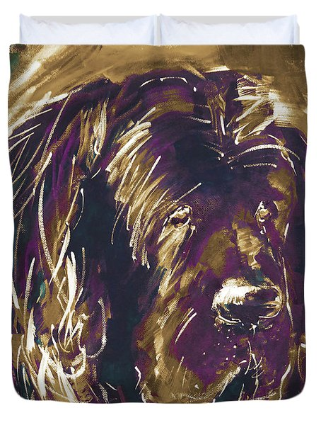 Dog Art  Duvet Cover