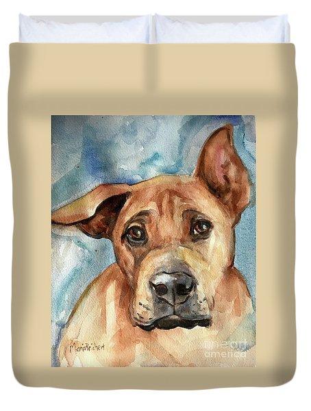 Dog Art Duvet Cover