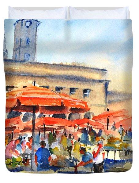 Dolce Market, Zagreb - 2 Duvet Cover