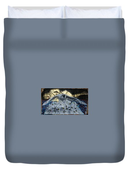 Don't Fight Your Dreams Duvet Cover