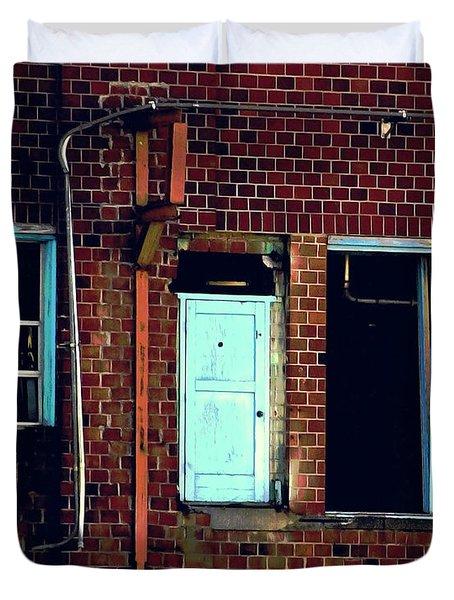 Door To Nowhere Duvet Cover