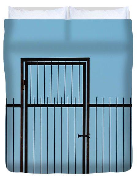 Door To The Sky Duvet Cover