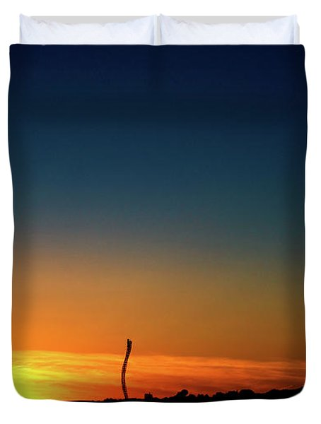 Dorney Park Sunset Duvet Cover