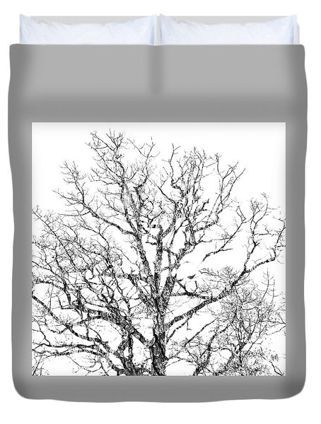 Duvet Cover featuring the photograph Double Exposure 1 by Steve Stanger