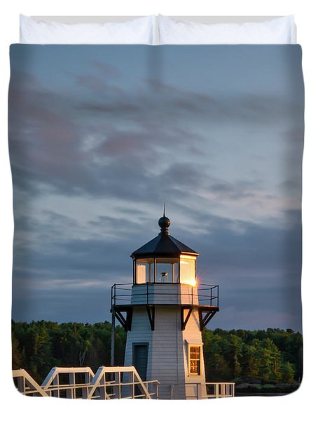Doubling Point Light Duvet Cover