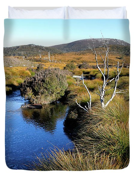 Duvet Cover featuring the photograph Dove River by Nicholas Blackwell