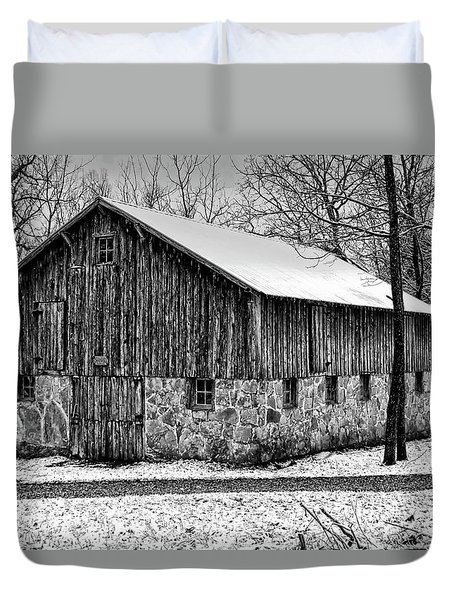 Down The Old Dirt Road Duvet Cover