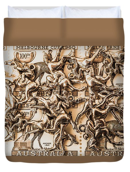 Down Under Derby Duvet Cover