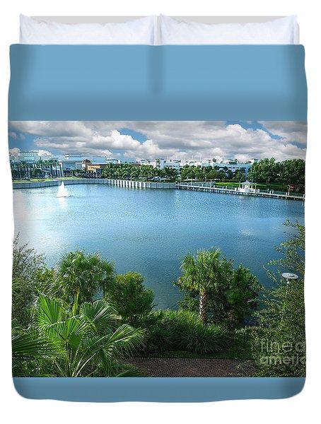 Downtown At The Gardens Mall Palm Beach Florida C2 Duvet Cover