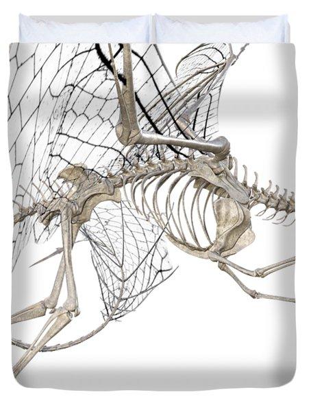 Dragon Skeleton  Duvet Cover