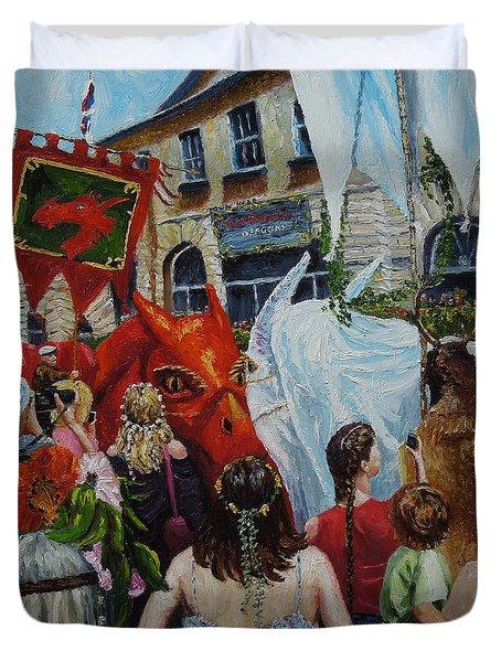 Dragons Glastonbury Event Duvet Cover