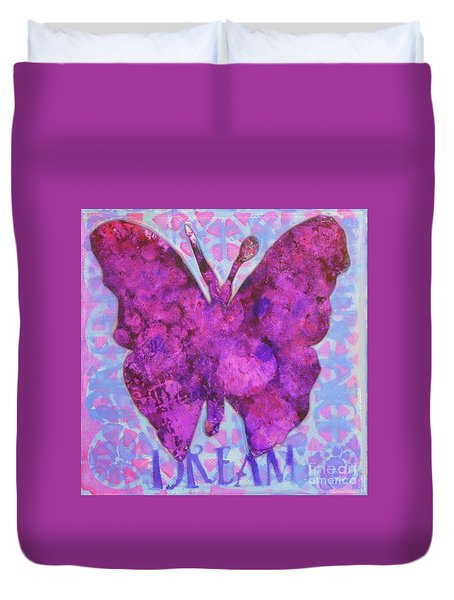 Dream Butterfly Duvet Cover