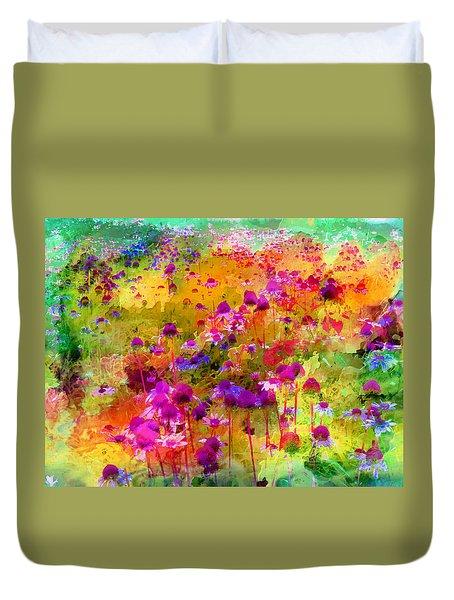 Dream Of Flowers Duvet Cover