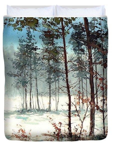 Dreaming Forest Duvet Cover