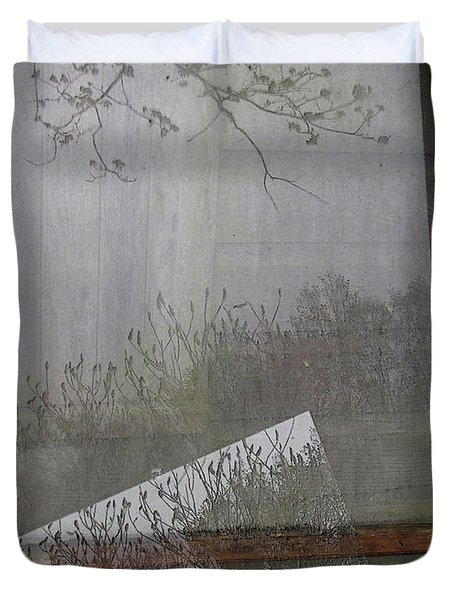 Dreams Behind The Wall Of Sleep Duvet Cover