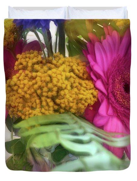 Dreamy Bouquet Duvet Cover