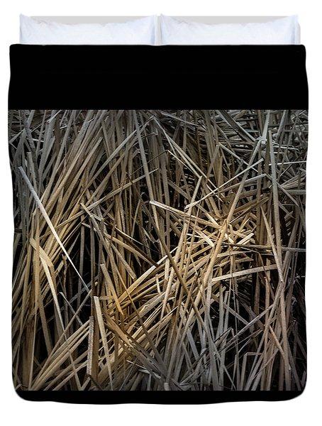 Dried Wild Grass IIi Duvet Cover