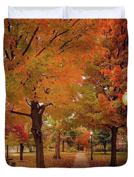 Drury Autumn Duvet Cover
