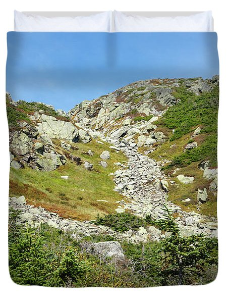 Dry River Trail - Oaks Gulf, New Hampshire Duvet Cover