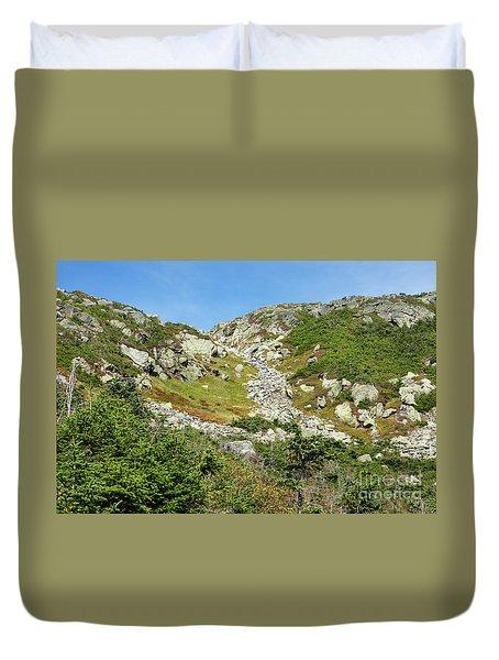 Dry River Trail - Oaks Gulf, New Hampshire Duvet Cover