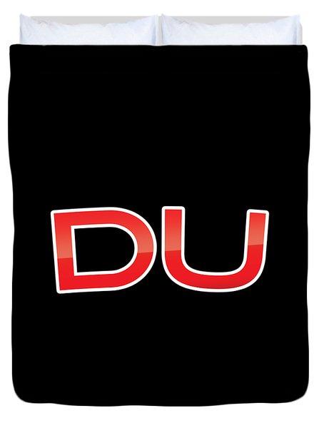Du Duvet Cover