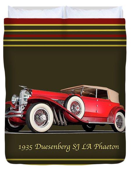 Duesenberg 1935 Duvet Cover