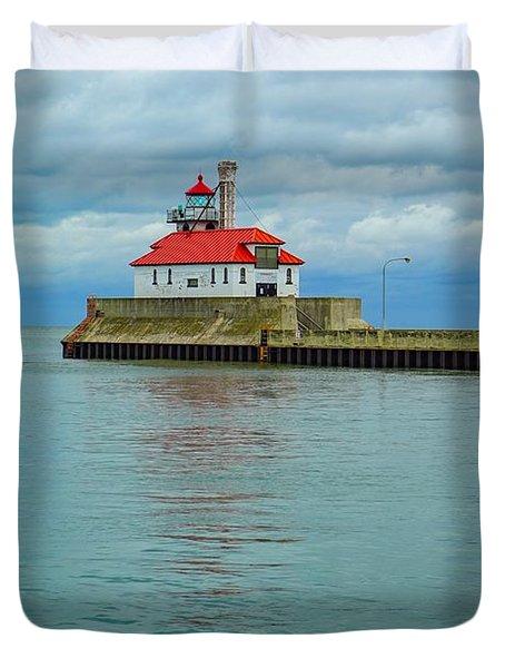 Duluth Lighthouse 2 Duvet Cover