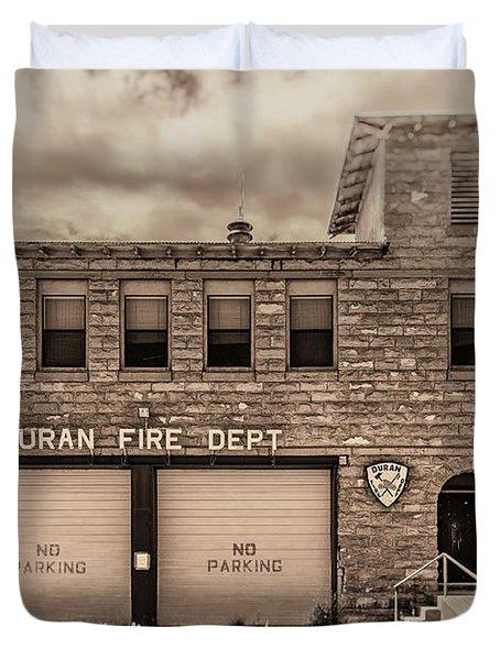Duran Fire Dept Duvet Cover