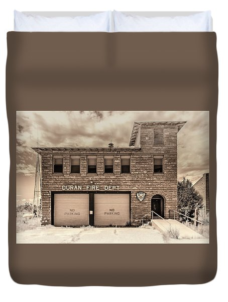 Duran Fire Dept Duvet Cover