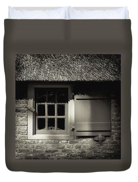 Dutch Farmhouse Window Duvet Cover