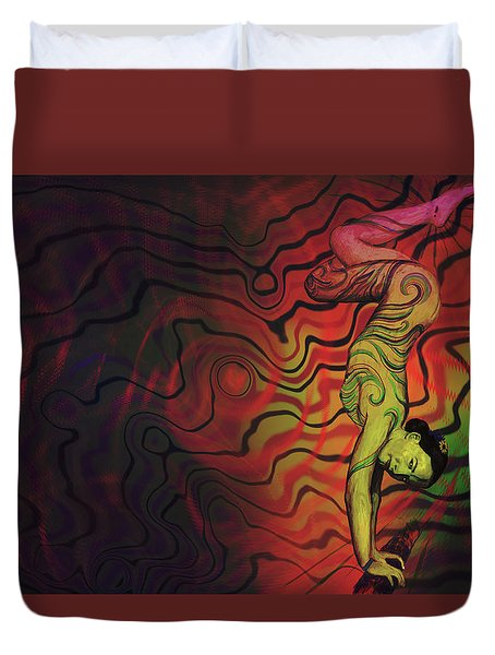 Dynamic Color Duvet Cover