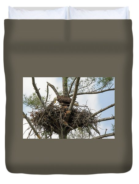 Eagle Nest Duvet Cover